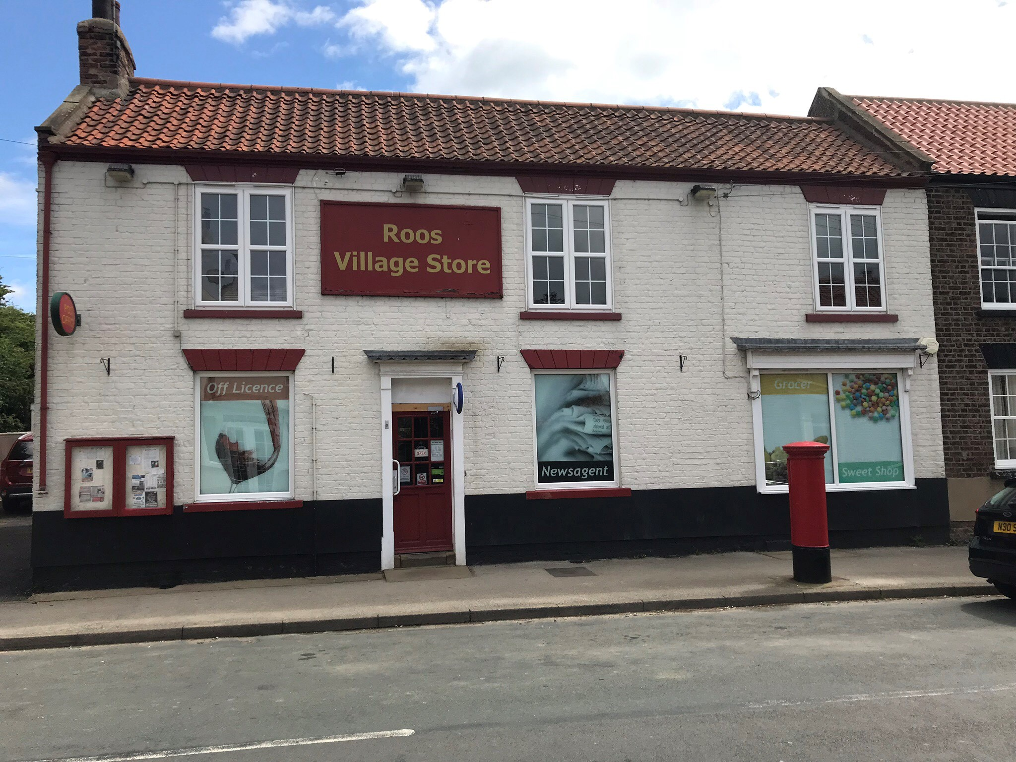 Village Store for sale with 3/4 bed family residence