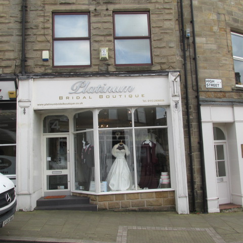 Specialist Bridal Dress Retailer For Sale